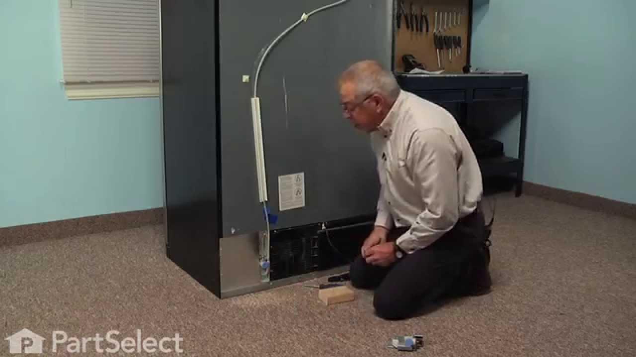 Refrigerator Repair Replacing The Water Inlet Valve