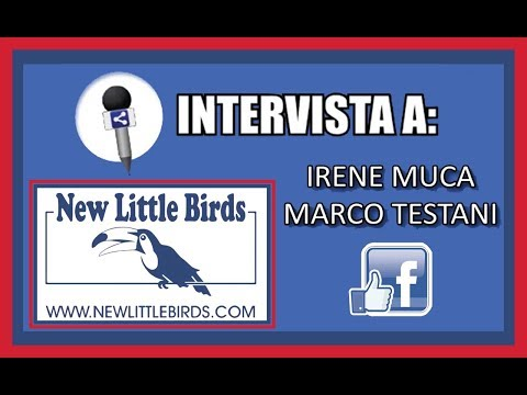 Intervista byNight Roma - live social radio show - NLB New Little Birds Irene Muca Marco Testani