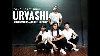 Urvashi | Yo Yo Honey Singh | Ronak Wadhwani Choreography | Shahid Kapoor | Dance video