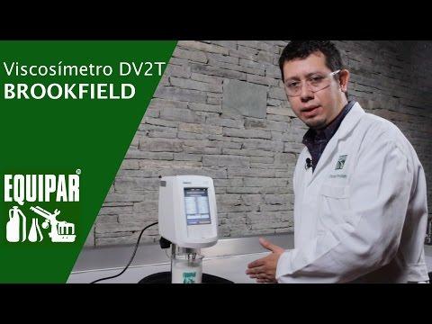 Brookfield DV2T Viscoímetro - Instalación y funcionamiento