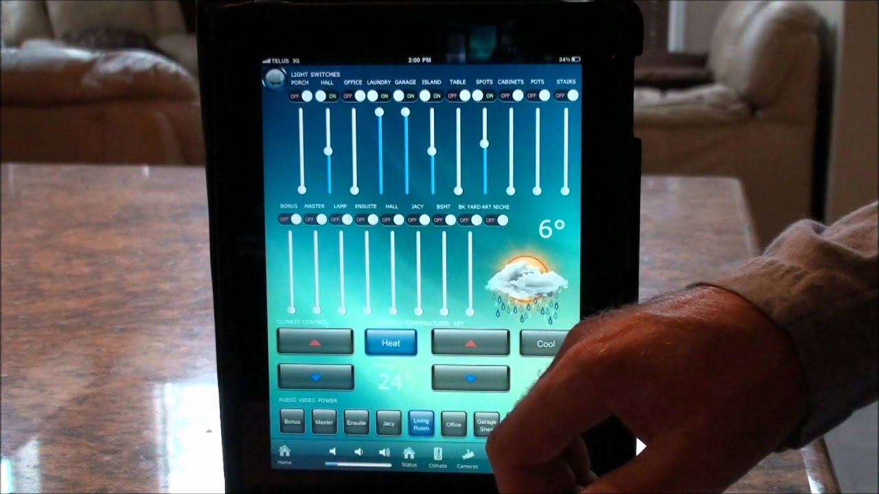 control lighting with ipad. Control Lighting With Ipad U