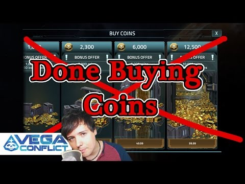 VEGA Conflict: Done Buying Coins