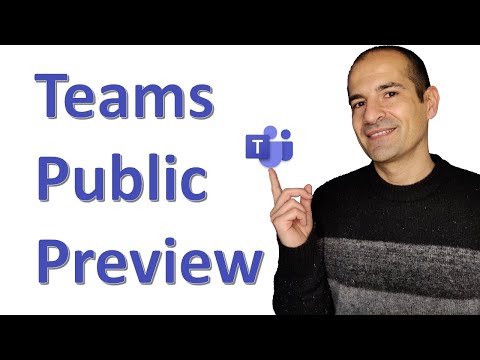 How to enable the Public Preview in Microsoft Teams 🚀