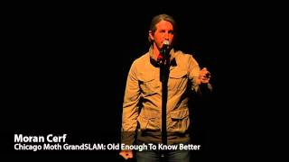 Moth GrandSLAM winning story: 'Old enough to know better'