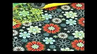 How to Fussy Cut Fabric