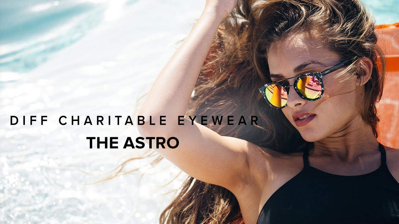 91e335b1ad9 DIFF EYEWEAR SPR 17 - THE ASTRO - YouTube