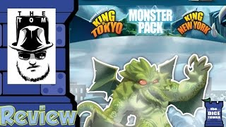 King of Tokyo: Cthulhu Monster Pack Review - with Tom Vasel