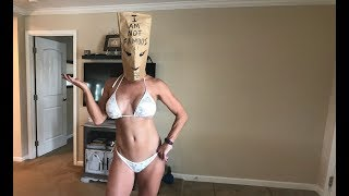 Maybe... If she wears a paper bag on her head.