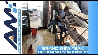 The Ultimate Deck Cleaning Machine