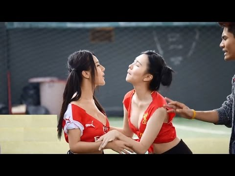 Thai Sexy Girls Kissing Game Ep 8