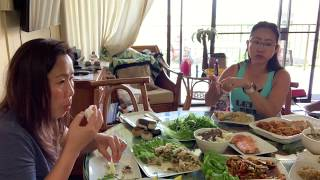 Nice To Have A Lunch With My Family In Maui/Naly's Lao Kitchen.