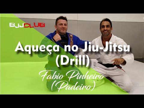 """Drill de aquecimento com Fabio Pinheiro """"Padeiro"""" - Jiu Jitsu - BJJCLUB"""