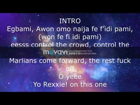 Naira Marley Pxta Lyrics/official Lyric Video