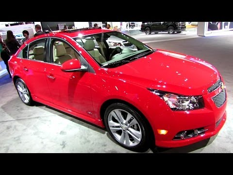2014 Chevrolet Cruze LTZ RS - Exterior And Interior Walkaround - 2013 LA Auto Show