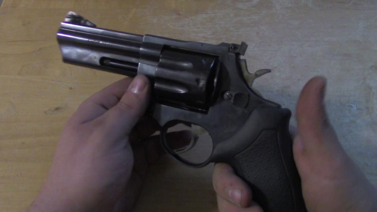 Taurus Model 608  357 Magnum review (Ruger SP101)