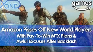 Amazon Pisses Off New World MMO Players With Pay-To-Win MTX Plans & Awful Excuses After Backlash