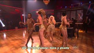 Show me how you burlesque - Christina Aguilera live (subtítulos en español)