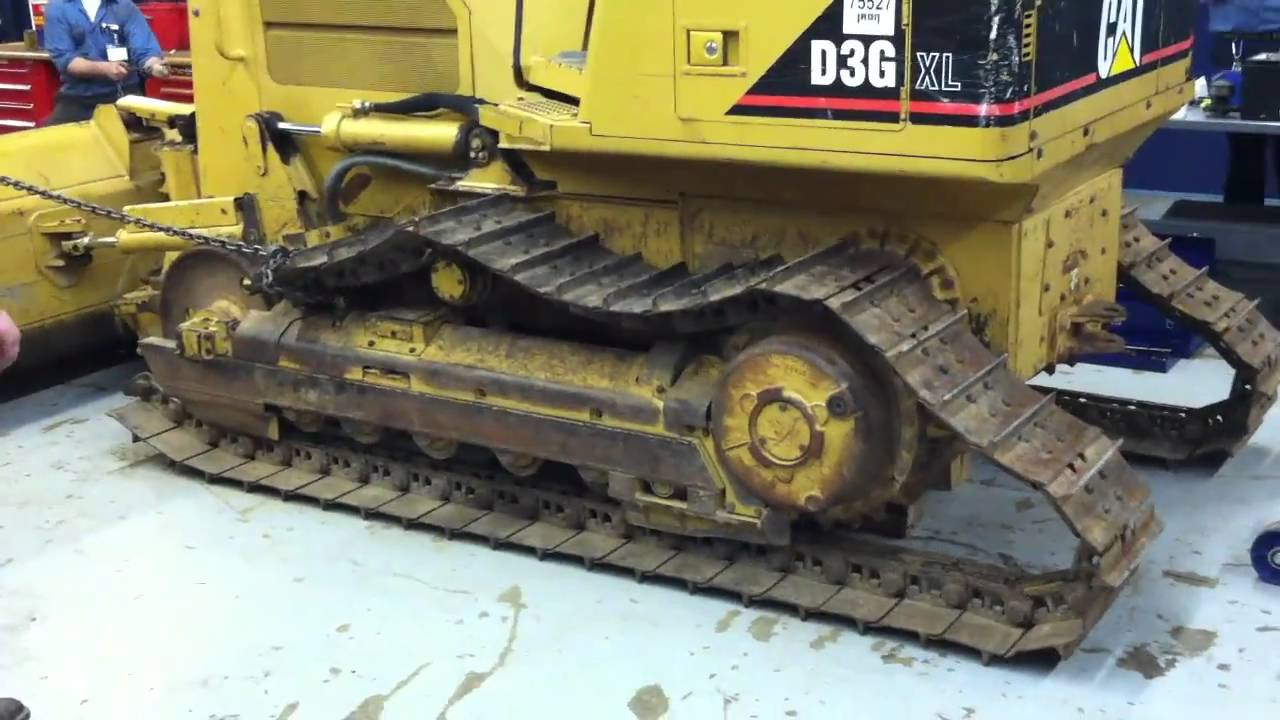 NADC Cat D3 Track Removal
