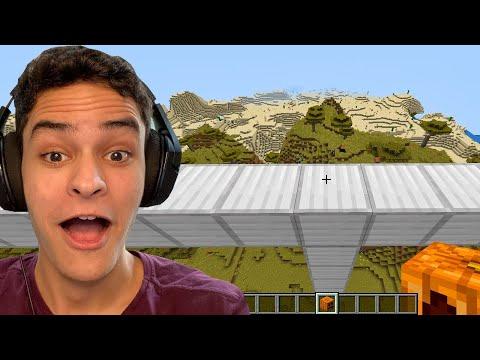 testei os vídeos virais de minecraft (funcionou!) #5