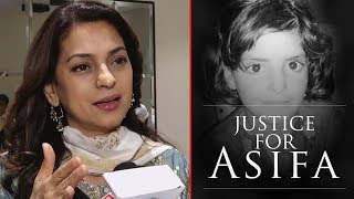 Juhi Chawla Gets Emotional and Speechless On Kathua Asifa Bano Case