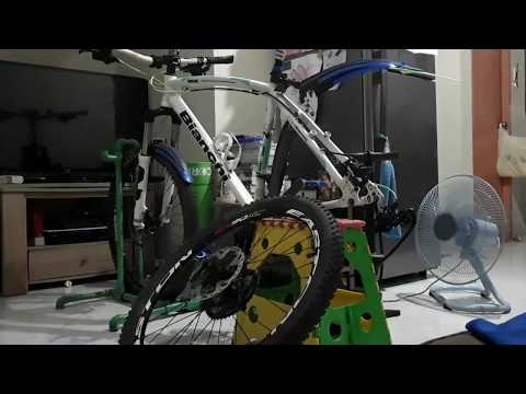 MTB Cebu: shares how I tire change and Clean my Cassette.