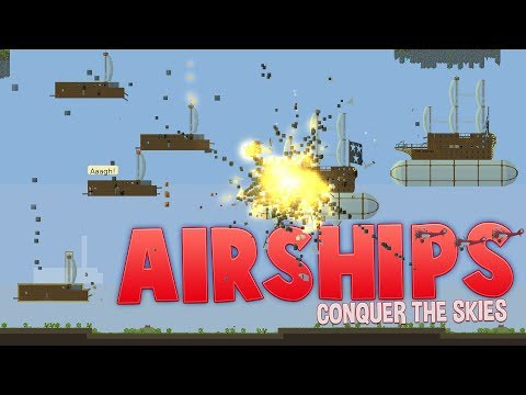 Destroying Cities With Giant Airships! - Airships: Conquer The Skies Conquest Gameplay Part 1