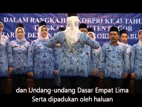 Lirik dan Lagu Mars Korpri by Paduan Suara Dinas Kesehatan Kab. Bogor
