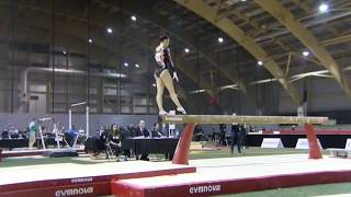 Brooklyn Moors | Day 1 Beam - 2018 Elite Canada