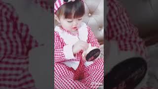 Funny baby video hahaha