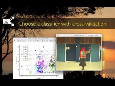 Choose the classifier with cross-validation