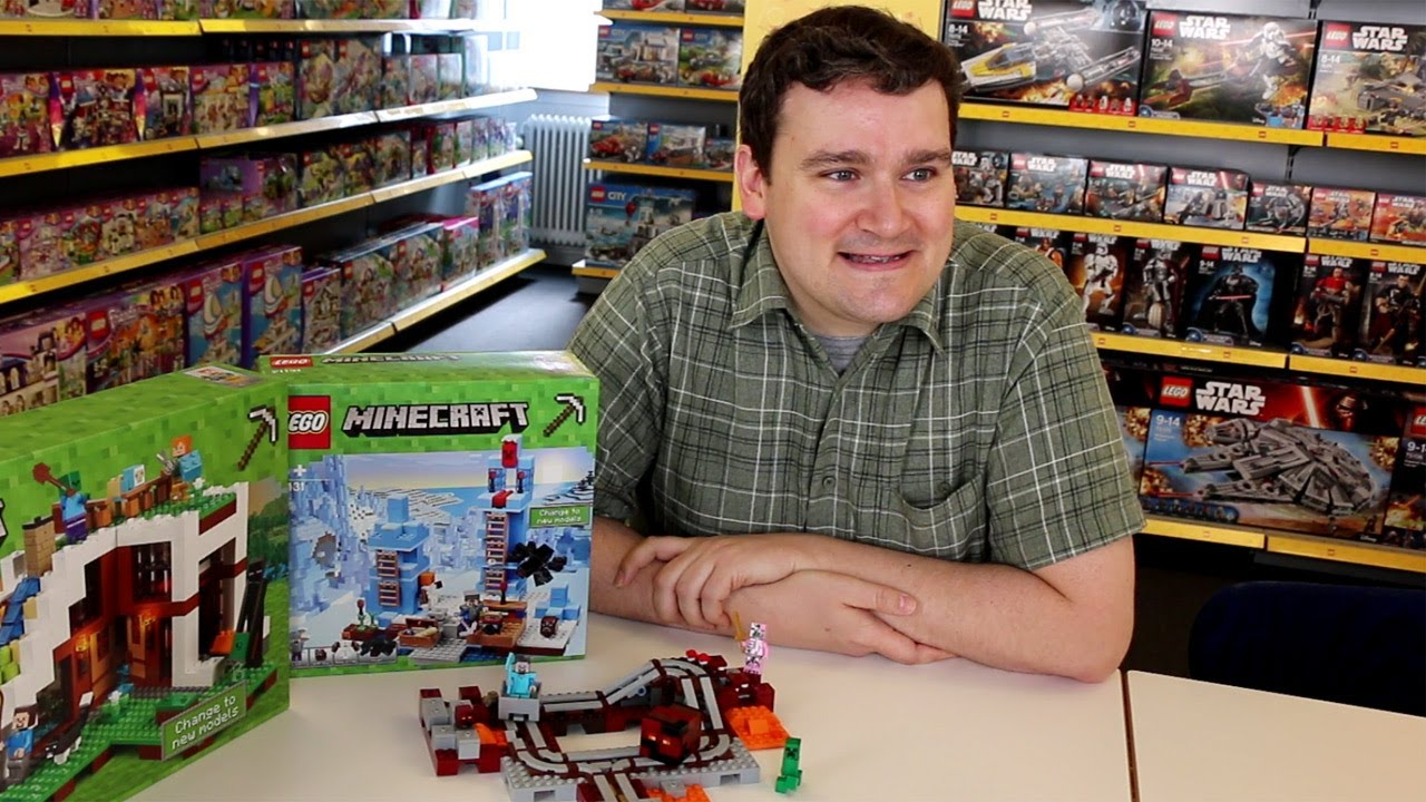 Lego Minecraft Designer Interview With Joe Kyde Youtube
