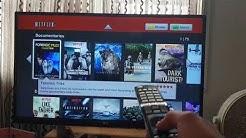 Change Netflix users on LG Smart TV.