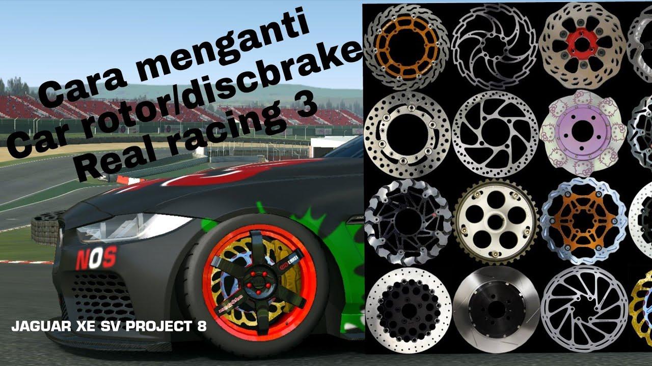 Tutorial cara mengganti rotor discbrake real racing 3