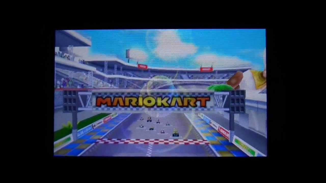 Mario Kart 7 Nintendo 3ds First Look Options Controls Gameplay Great