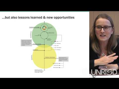 UNRISD 2016 Flagship Report Launch