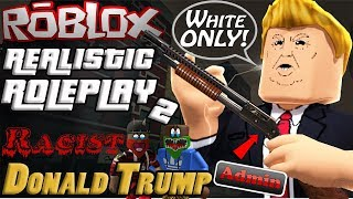 Roblox - RRP2 🔫 Donald Trump Admin 😡 Game is Lit tho😂