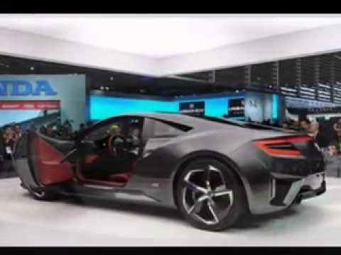 2015 Acura NSX Interior And Exterior