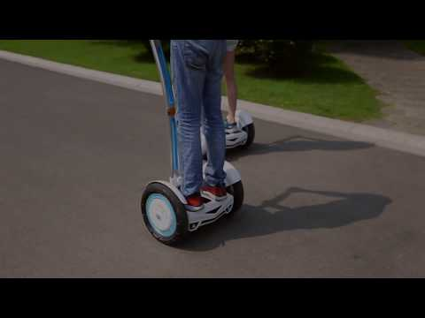 Airwheel S3 self-balancing scooter in motion!