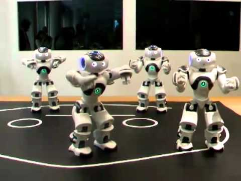 NAO shows of its dance skills!
