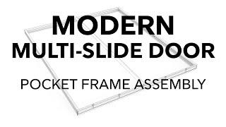 Modern Multi-Slide Pocket Frame Assembly