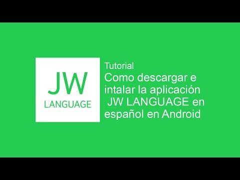 Instalacion Y Uso Básico JW Language En Android - JWTutoriales
