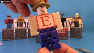 Roblox Mystery Surprise Blind Bags Box Game Figures Unboxing Series 1,03259