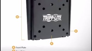 Tripp Lite Fixed Flat-Screen Wall Mount DWF1323M
