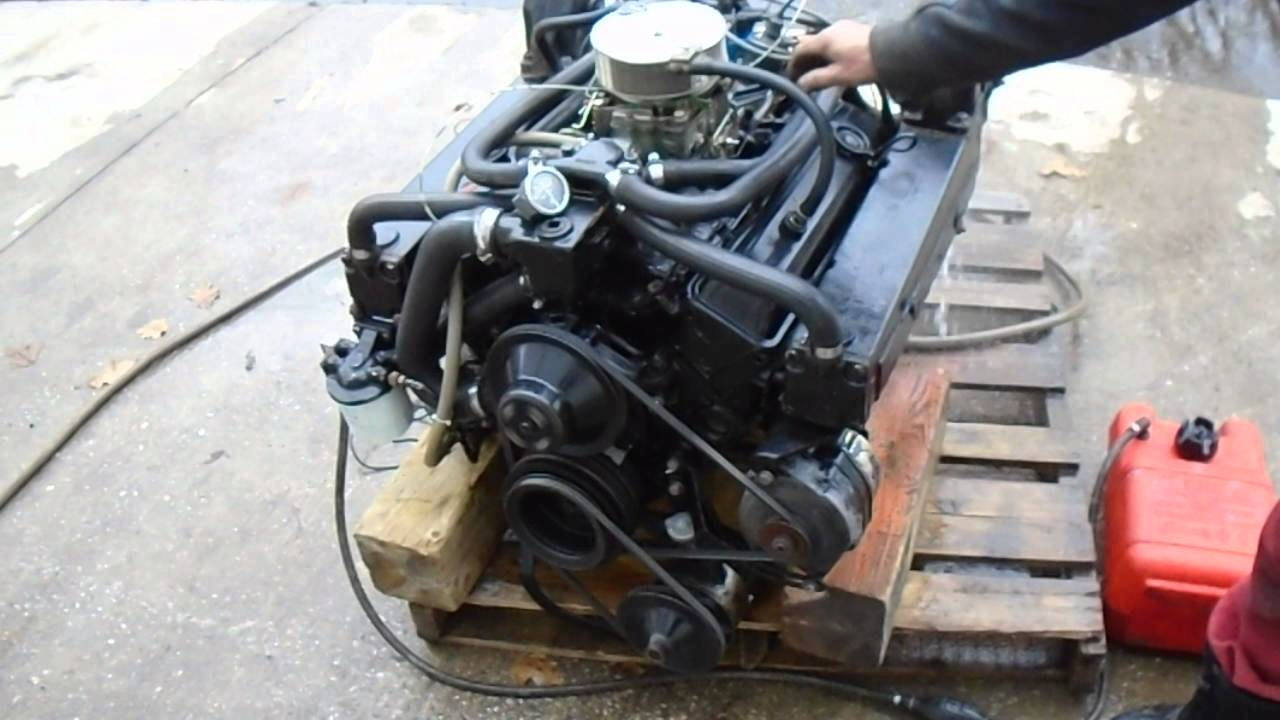 All Chevy 305 chevy engine for sale : MERCRUISER 228 MOTOR ENGINE FOR SALE - YouTube