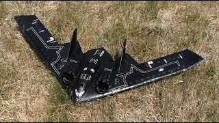 stealth bomber interactive toy b2