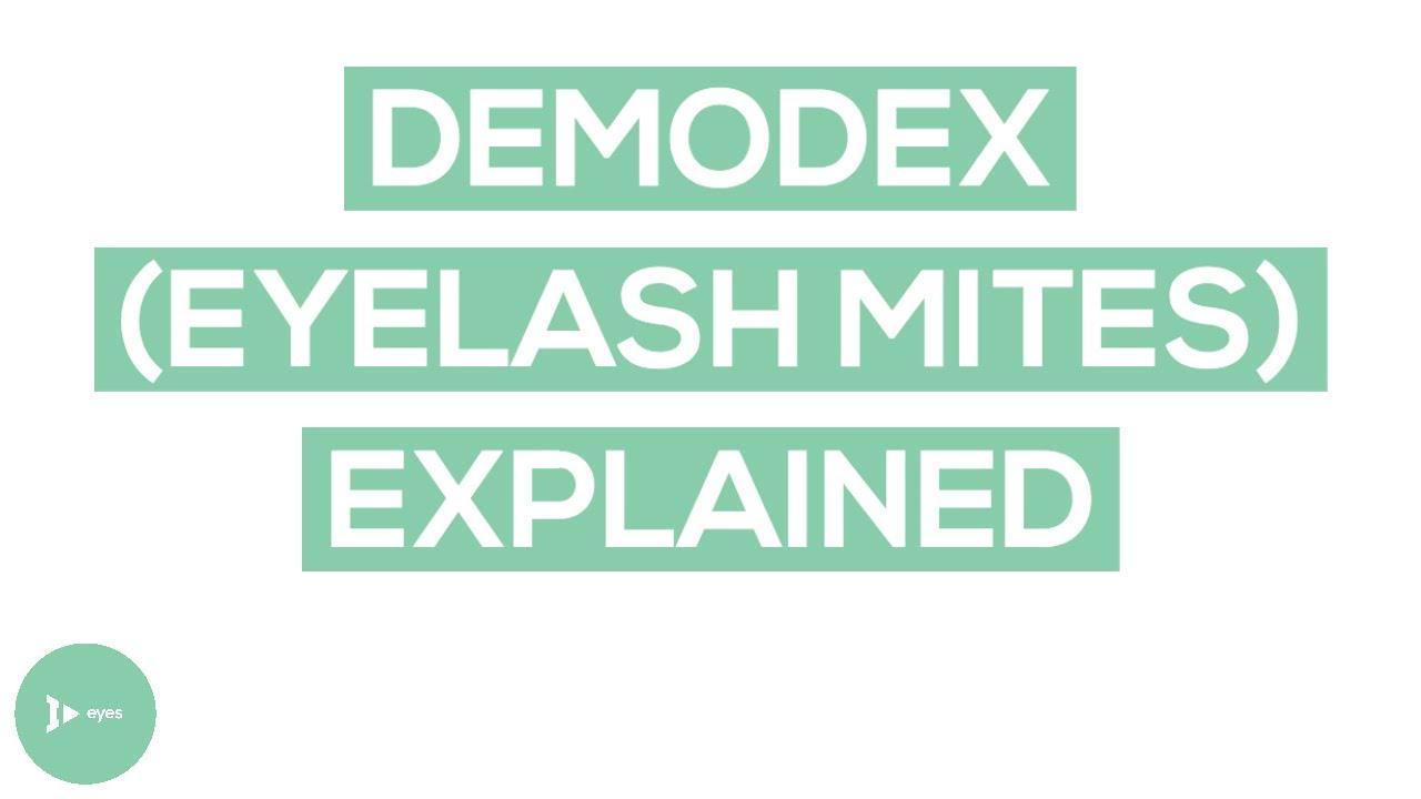 a demodex hatása a látásra a glaukóma myopia vagy hyperopia