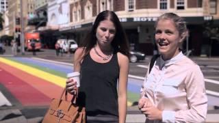 City of Sydney - Rainbow Crossing, Oxford Street