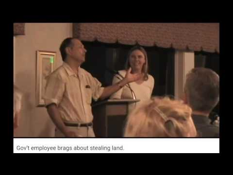 BUSTED Gov Employee's Laughing about Stealing Land! MAKE VIRAL
