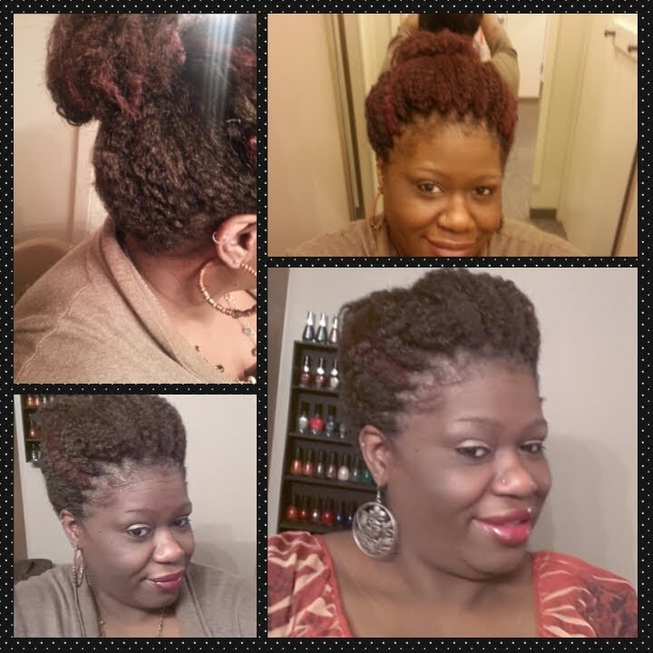 Crochet Hair In A Bun : Crochet Braids: High Bun - YouTube