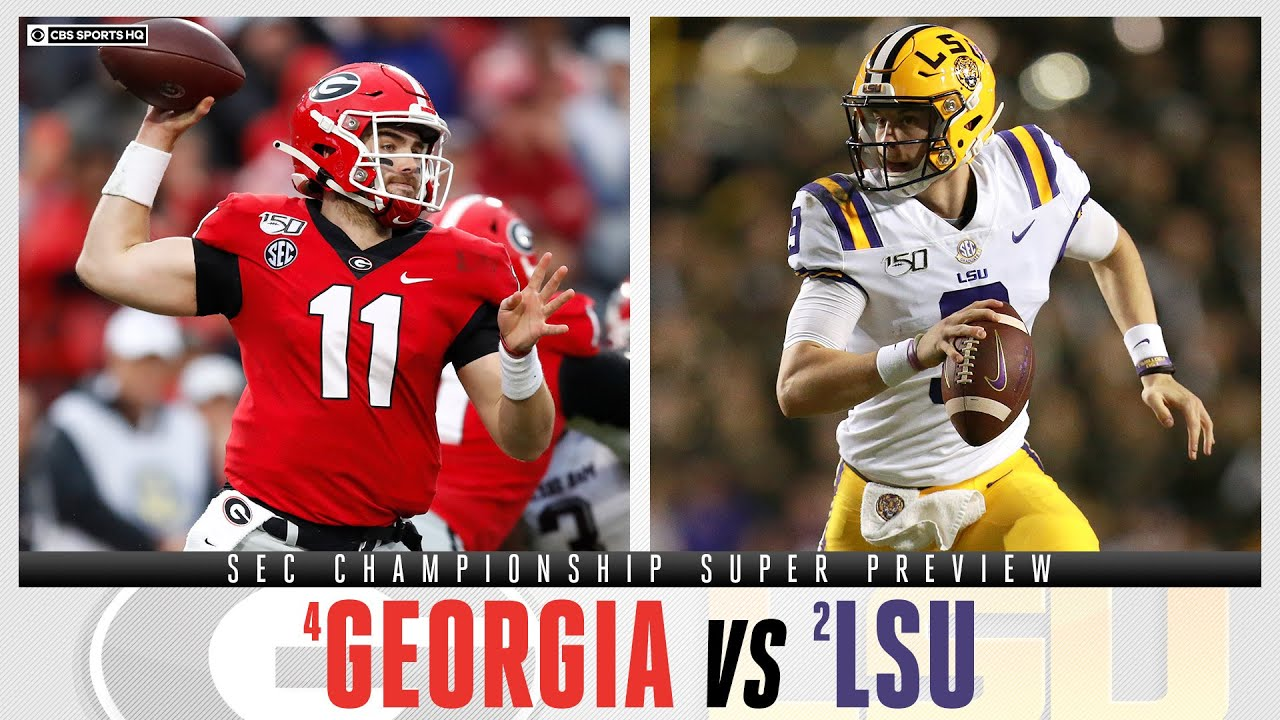 SEC Championship 2019: UGA Takes On LSU Saturday In Atlanta